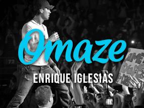 Omaze Enrique Iglesias